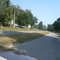 Улица Ленина возле церкви