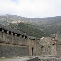 Крепостные стены Вильфранш-де-Конфлан и форт Либерия