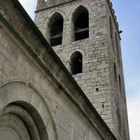 Колокольня церкви Святого Якоба в Вильфранш-де-Конфлан