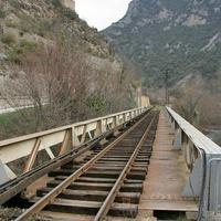 Узкоколейная железная дорога в Восточных Пиренеях