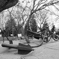 Севастополь. Якоря на Историческом бульваре