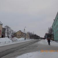 Перекрёсток ул. Советская - ул. Позднякова