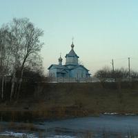 Церковь весною