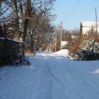 Зимяя улица