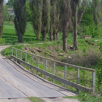 Копейчана. Мост через речку Сухой Ташлык