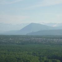 Горы и окраина Северобайкальска
