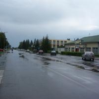 Центр пос. Солнцево Курской области.