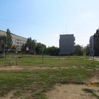 Спортивная площадка к детского дома творчества