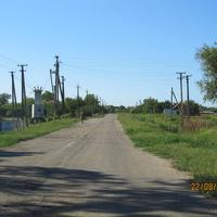 Старобогдановка, центральная улица