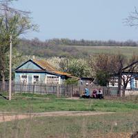 весна в хуторе