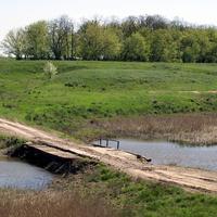 мостик через Сал у хутора