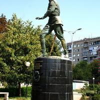 """памятник генералу """"Белого"""" движения Маркову"""