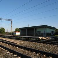 """Ж/д станция """"Кологривовка"""", новый вокзал."""
