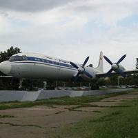 """Памятник """"Ил-18"""" (2009 год)"""