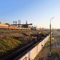 Угольный склад 2-го блока УПЦ