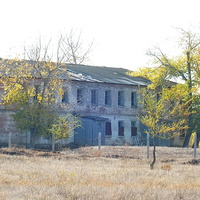 старое здание школы