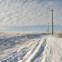 по дорогам зимы...