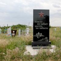 братская могила воинов,павших в ВОВ на хуторском кладбище
