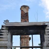 руины дома помещицы Кувшиновой в г. Кувшиново