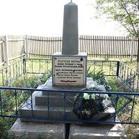 братская могила воинов,павших в ВОВ