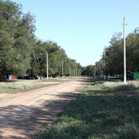 центральная улица хутора