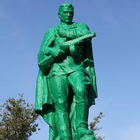 братская могила воинов,павших в ВОВ-памятник