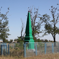 Братская могила павших в ВОВ воинов