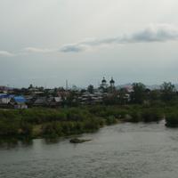 Река Уда и юго-восточная часть города