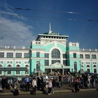 Зелёный вокзал в Омске