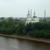 Река Тура, Вознесенско-Георгиевский храм