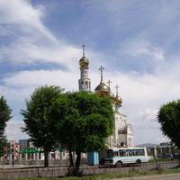 Абакан. Преображенский собор