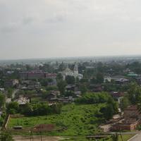 Вид на нижнюю часть Тобольска