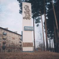 Посёлок Менделеево. Здесь находится ж/д станция Тобольск