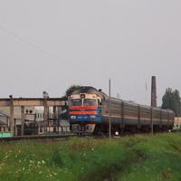 Дизельная электричка Пинск – Брест
