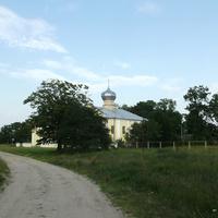 Деревня Шебрин (Шчэбрын), Пречистенская церковь (1793 г.)