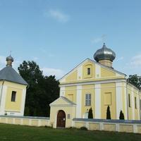 Табличка указывает, что это Пречистенская церковь (1793 г.)  Но: на многих картах указана как Церковь Рождества Пресвятой Богородицы