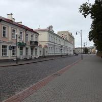 Улица Элизы Ожешко (Элiзы Ажэшкi)