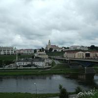 Гродно, Неман и мост через него