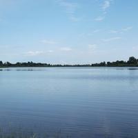 Возле станции Ясельда есть озеро