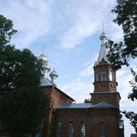 Лунинец. Церковь в честь Воздвижения Честного и Животворящего Креста Господня