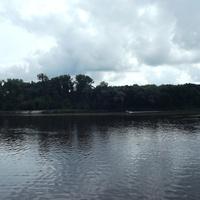 Впадение реки Пина в Припять