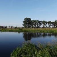 Река Неман и городок Столбцы