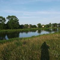 Река Неман и город Столбцы