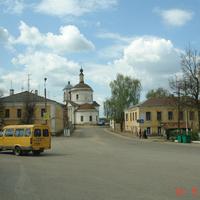 Центральная площадь Боровска, 2006 г.