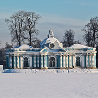 "Екатерининский парк. Павильон ""Грот""."