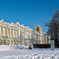 Екатерининский дворец зимой