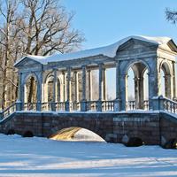 Екатерининский парк. Мраморный мост.
