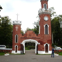 башня с швейцарскими курантами