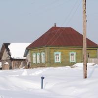 Дом Тюлиной Е. Д., героя Соц. Труда.