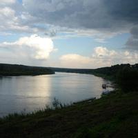 Река Ока в Тарусе